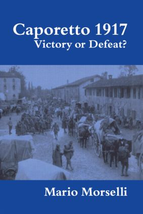 Caporetto 1917: Victory or Defeat? (Paperback) book cover