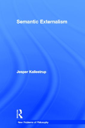 Semantic Externalism book cover