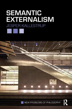Semantic Externalism: 1st Edition (Paperback) book cover