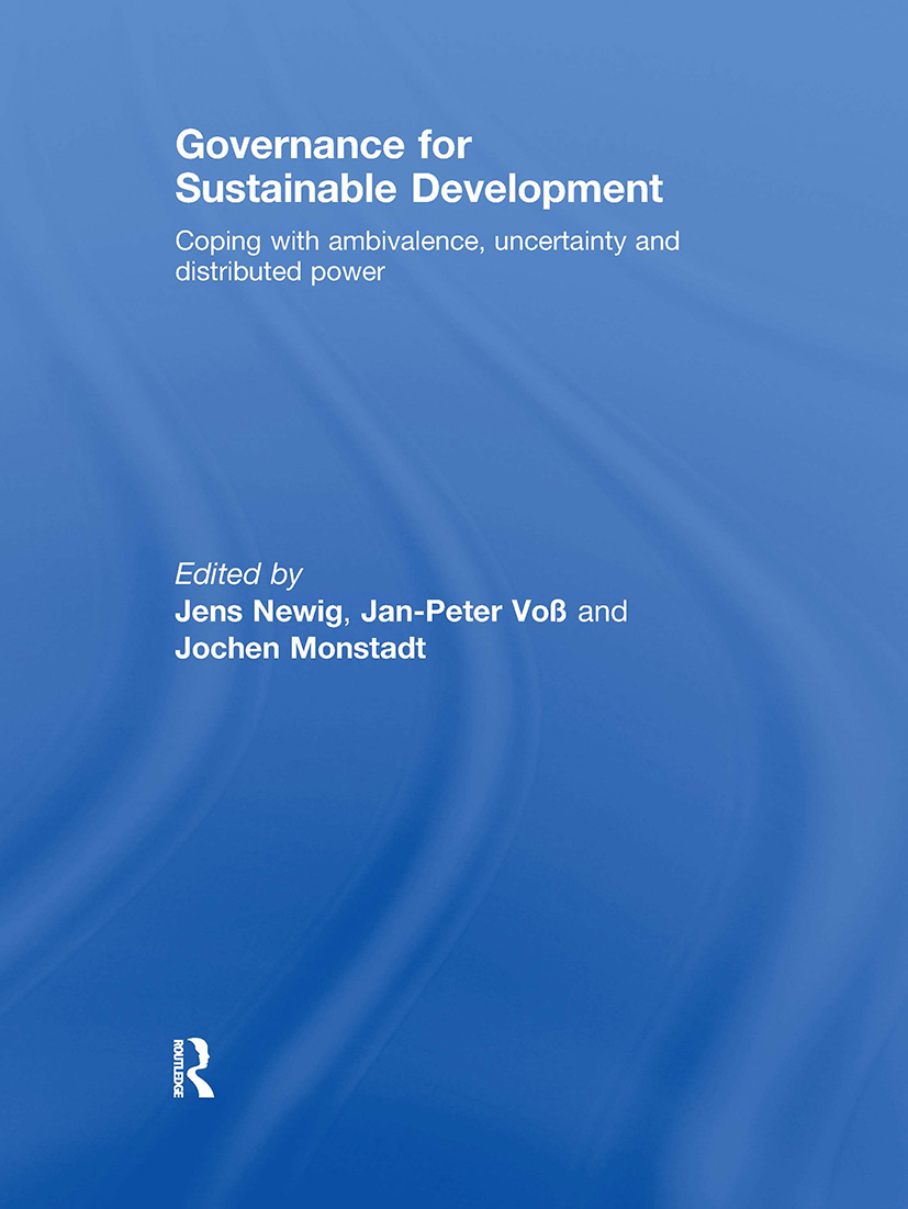 Governance for Sustainable Development: Coping with ambivalence, uncertainty and distributed power, 1st Edition (Hardback) book cover
