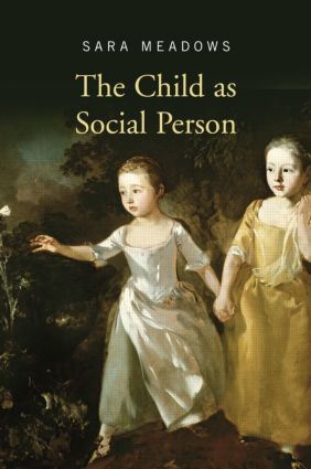 The Child as Social Person (Paperback) book cover