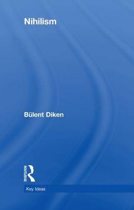 Nihilism: 1st Edition (Hardback) book cover