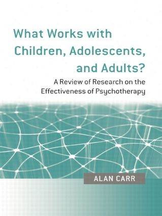 What Works with Children, Adolescents, and Adults?: A Review of Research on the Effectiveness of Psychotherapy (Paperback) book cover