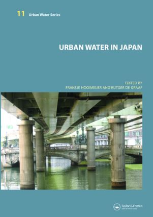 Urban Water in Japan: 1st Edition (Hardback) book cover