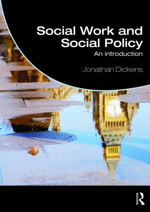 Social Work and Social Policy: An Introduction (Paperback) book cover