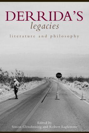 Derrida's Legacies