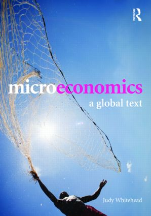 Microeconomics: A Global Text book cover