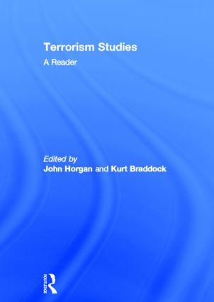 Terrorism Studies: A Reader, 1st Edition (Hardback) book cover