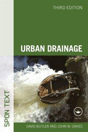 Urban Drainage, Third Edition: 3rd Edition (Paperback) book cover