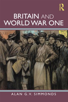 Britain and World War One book cover