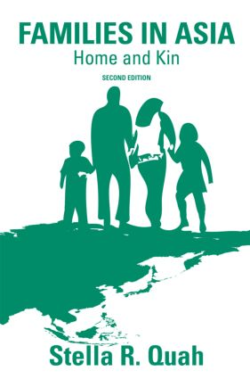 Families in Asia: Home and Kin book cover