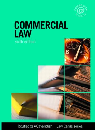 Commercial Lawcards 6/e: Seventh Edition book cover