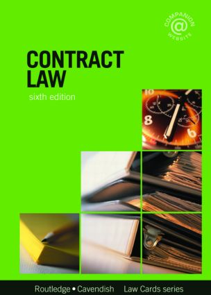 Contract Lawcards 6/e