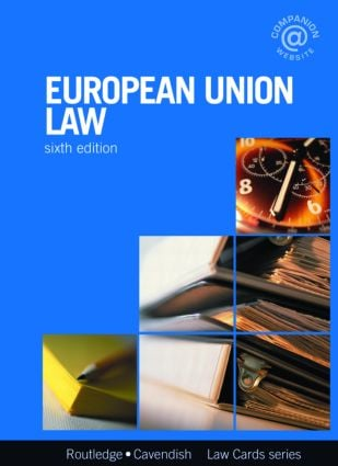 European Union Lawcards 6/e