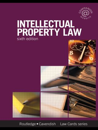 Intellectual Property Lawcards 6/e: Sixth Edition book cover