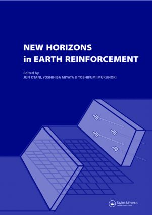 New Horizons in Earth Reinforcement: Book + CD-ROM, 1st Edition (Hardback) book cover