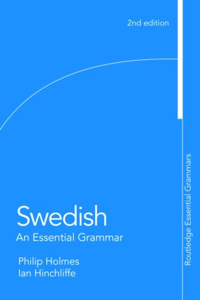 Swedish: An Essential Grammar: 2nd Edition (Paperback) book cover