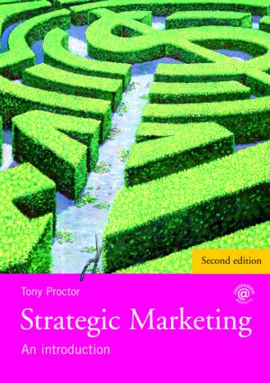 Strategic Marketing: An Introduction, 1st Edition (Paperback) book cover