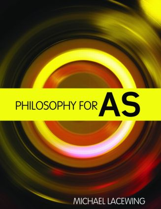 Philosophy for AS: 2008 AQA Syllabus (Paperback) book cover