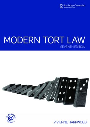 Modern Tort Law book cover