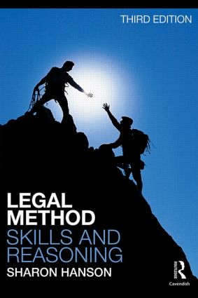 Legal Method, Skills and Reasoning: 3rd Edition (Paperback) book cover