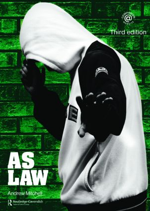 AS Law: 3rd Edition (Paperback) book cover