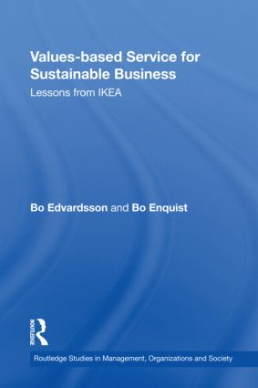 Values-based Service for Sustainable Business: Lessons from IKEA (Hardback) book cover