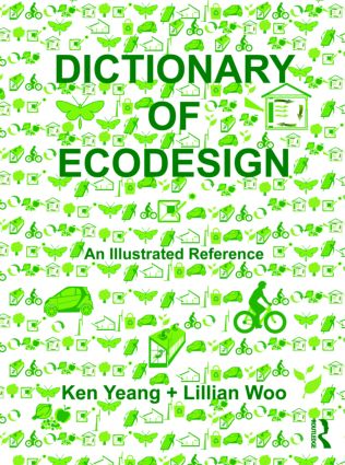 Dictionary of Ecodesign: An Illustrated Reference (Hardback) book cover