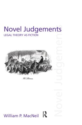 Novel Judgements: Legal Theory as Fiction book cover