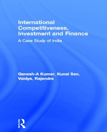 International Competitiveness, Investment and Finance