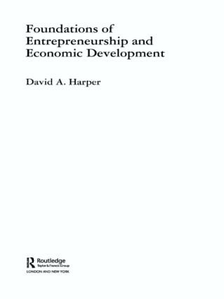 Foundations of Entrepreneurship and Economic Development (Paperback) book cover