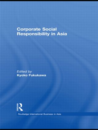 Corporate Social Responsibility in Asia (Hardback) book cover