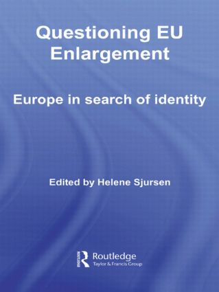 Questioning EU Enlargement: Europe in Search of Identity (Paperback) book cover