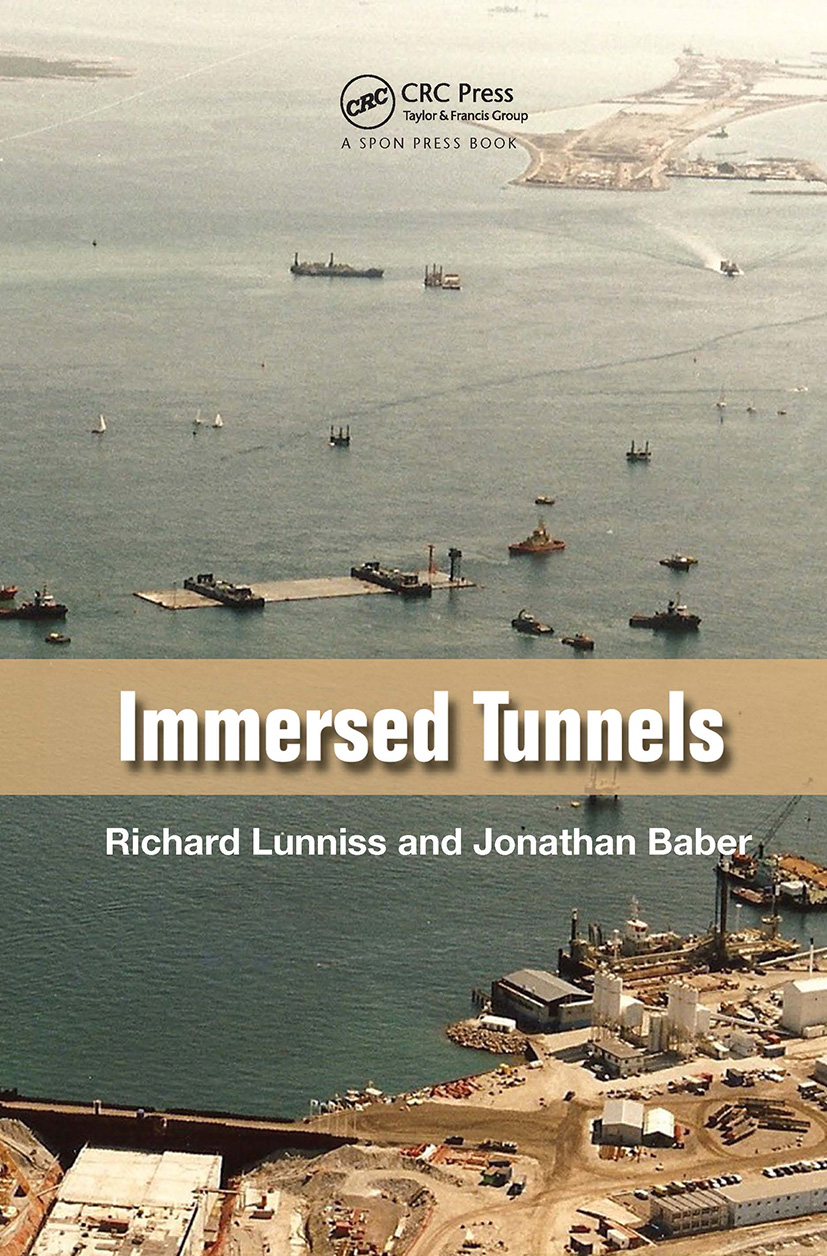 Immersed Tunnels: 1st Edition (Hardback) book cover