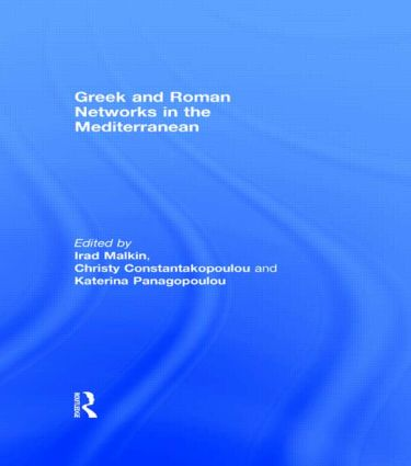 Greek and Roman Networks in the Mediterranean (Hardback) book cover