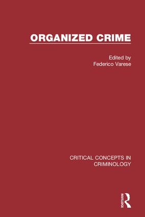 Organized Crime (Hardback) book cover