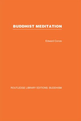 Buddhist Meditation book cover