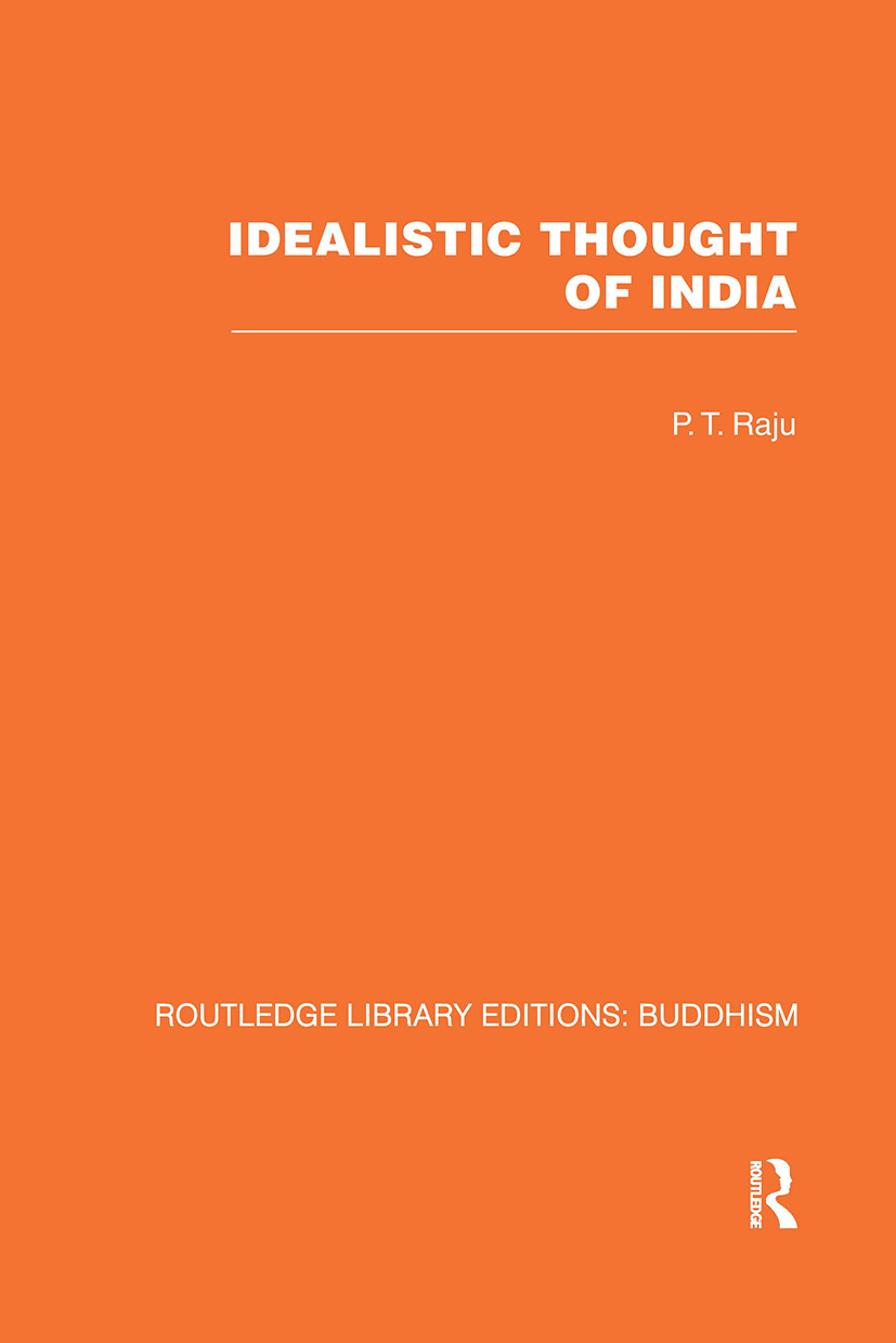 Idealistic Thought of India (Hardback) book cover