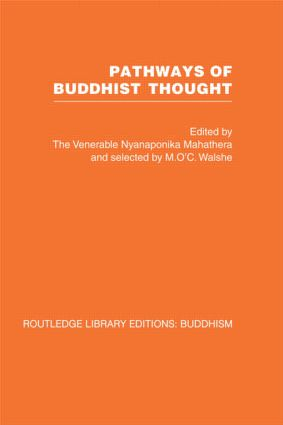 Pathways of Buddhist Thought: Essays from The Wheel (Hardback) book cover