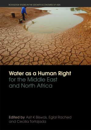 Water as a Human Right for the Middle East and North Africa (Paperback) book cover