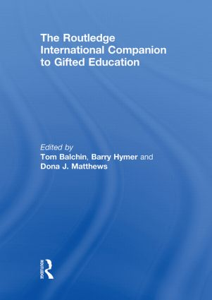 The Routledge International Companion to Gifted Education (Hardback) book cover