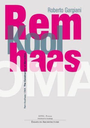 Rem Koolhaas / OMA (Hardback) book cover