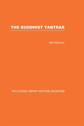 The Buddhist Tantras: Light on Indo-Tibetan Esotericism book cover