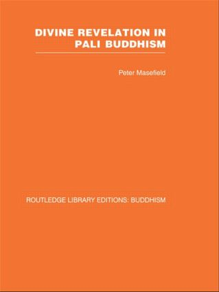 Divine Revelation in Pali Buddhism book cover