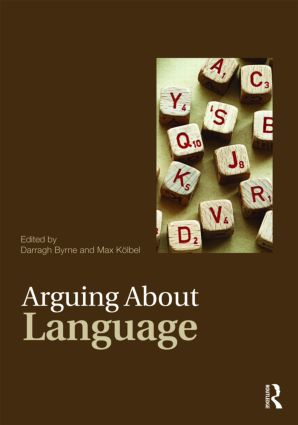 Arguing About Language book cover