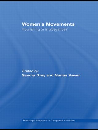 Women's Movements: Flourishing or in abeyance? (Hardback) book cover