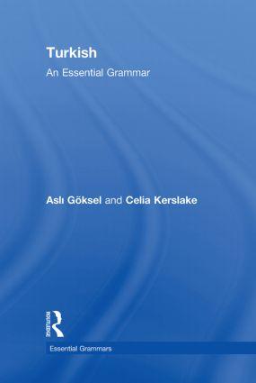 Turkish: An Essential Grammar book cover