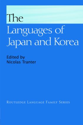 The Languages of Japan and Korea (Hardback) book cover