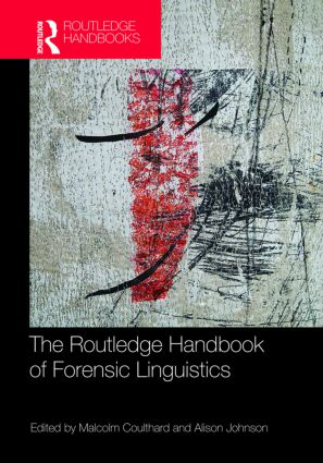 The Routledge Handbook of Forensic Linguistics (Hardback) book cover