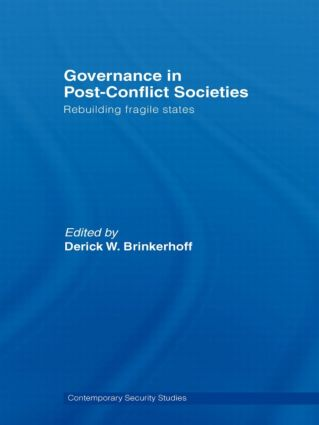 Governance in Post-Conflict Societies